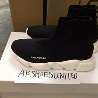 BALENCIAGA Knit Speed Sock Black Trainer ALL SIZES 5-13US 36-46eur 100%AUTHENTIC