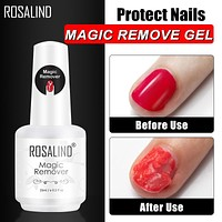 ROSALIND Nail Gel Polish Magic Remover