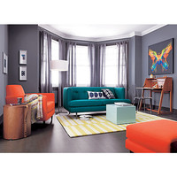 avec peacock apartment sofa in all furniture | CB2