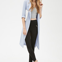 Zippered Knit Trousers