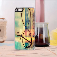 Coloured drawing pattern anchor case cover for iphone 5