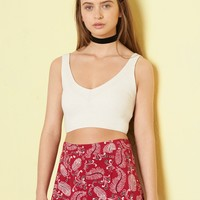Tokyo Rodeo Capsule Collection - Rib Crop Sweater Tank
