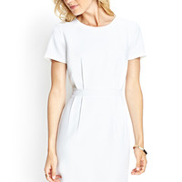 LOVE 21 Short-Sleeved Knit Dress