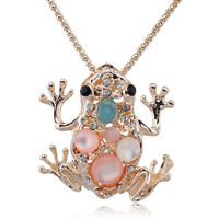 Lucky Frog Necklace
