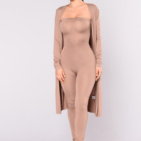 Colby Duster Jacket - Mocha