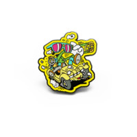 Day Trippers Pin