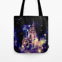 Celestial Palace Deep Pastels Tote Bag by Whimsy Romance & Fun