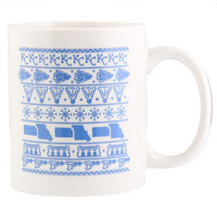 Kansas City Holiday Mug