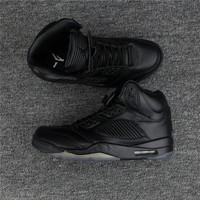 "DCCK Air Jordan 5 Premium Pinnacle ""Black�881432-010 Size 8-13"