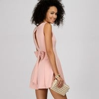 Promo-pink Fine And Dainty Skater Dress