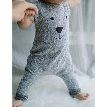 born Winter Cute Toddler Baby Girl Boy Bear Jumpers Outfits Clothes