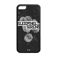 Music Band Sleeping with Sirens Hard Plastic Back Protective case for iphone 5C