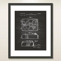 Music Boxs 1950 Patent Art Illustration - Drawing - Printable INSTANT DOWNLOAD - Get 5 Colors Background