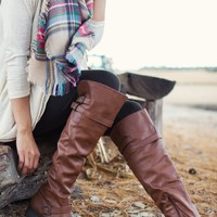 All Time High Knee High Riding Boots