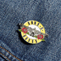 Guns N Roses Welcome Pin - Urban Outfitters