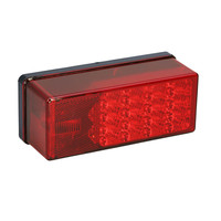 "Wesbar 3"" x 8"" Waterproof LED 7-Function, Right/Curbside Tail Light"