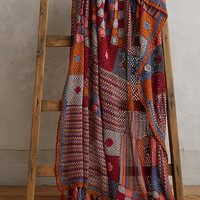 Patchwork Crocheted Throw