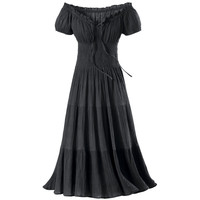 Gauze Peasant Dress - New Age, Spiritual Gifts, Yoga, Wicca, Gothic, Reiki, Celtic, Crystal, Tarot at Pyramid Collection