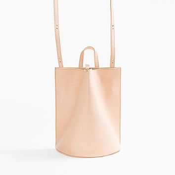 The Common Knowledge Pinch Convertible Bag in Nude for Poketo