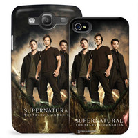 Supernatural Dean, Sam, and Castiel Phone Case for iPhone and Galaxy |