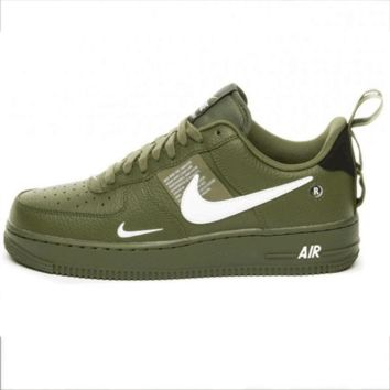 NIKE AIR FORCE 1 07 LOW New Couple Casual Fashion Wild Sports Shoes Green