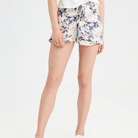 AE Lace-Up Soft Short, Cream