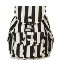 Stripe Denim Backpack - Backpacks - Bags & Wallets - Bags & Accessories - Topshop USA