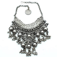 Moon Dweller Indian Necklace