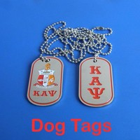 Kappa Alpha Psi Fraternity - Double Sided  Tags