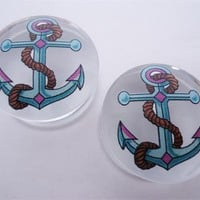 Clear Anchor Plugs (2 gauge - 1 inch)