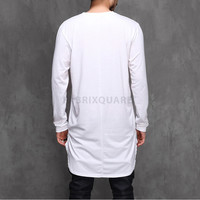 XQUARE 23 Unblance Back Extended Long T shirt - 92cm