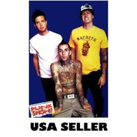 Blink 182 Cassette Belt Poster 23.5 X 34 inches Travis Barker great gift (poster sent FROM USA in PVC pipe)