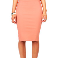 Canvas Pencil Skirt | Skirts at Pink Ice