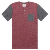 On The Byas Chad Color Blocked Henley T-Shirt at PacSun.com