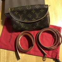 Louis Vuitton Monogram Cross Body Bag/ Belt Bag