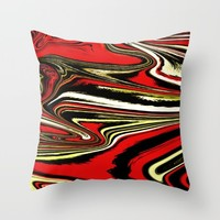 VEGOUT Throw Pillow by Chrisb Marquez