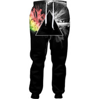 Abstract Prism Joggers