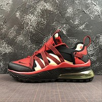 Nike Air Max 270 Bowfin Red Black Sport Running Shoes