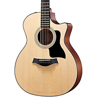 Taylor 314ce Grand Auditorium Cutaway Acoustic-Electric Guitar | GuitarCenter