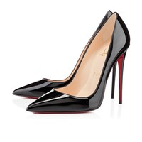 Christian Louboutin Cl So Kate Black Patent Leather Fw13 Pumps 3130694bk01 -