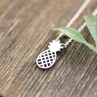 Pineapple Necklace -Stainless Steel