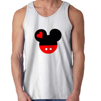Mickey and Minnie Disney Matching A For Mens Tank Top Fast Shipping For USA special christmas ***