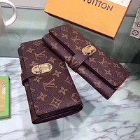 LV Louis Vuitton MONOGRAM CANVAS Curieuse WALLET