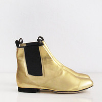 Chelsea leather boots (Handmade to order)