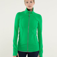 Lululemon Fashion Zipper Solid Color Sport Running Cardigan Jacket Coat