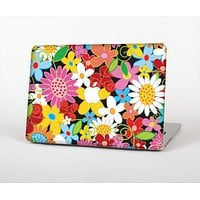 "The Vibrant vector Flower Petals Skin Set for the Apple MacBook Pro 13"" with Retina Display"