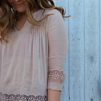Leland Embroidered Blouse
