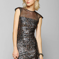Dress The Population Aubrey Sequin Bodycon Dress - Urban Outfitters