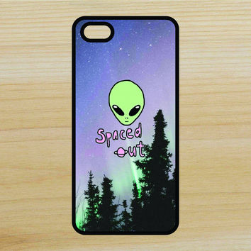 Alien Spaced Out Quote Art Phone Case iPhone 4 / 4s / 5 / 5s / 5c /6 / 6s /6+ Apple Samsung Galaxy S3 / S4 / S5 / S6