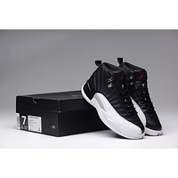 Air Jordan 12 Retro Black/White
